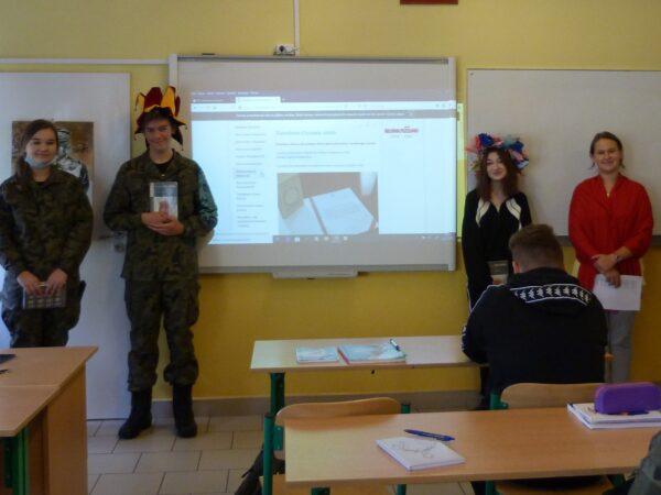Narodowe Czytanie XXVII LO w Lublinie